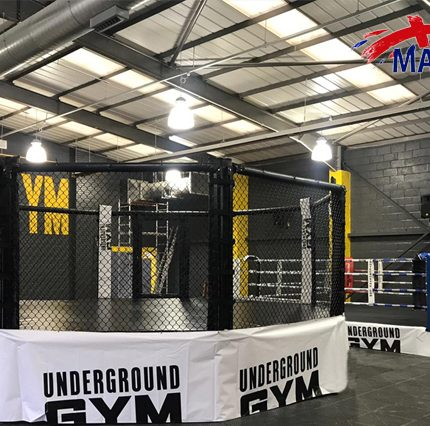 HIGH PLATFORM MMA CAGE