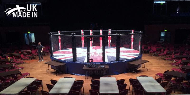 competition mma cage