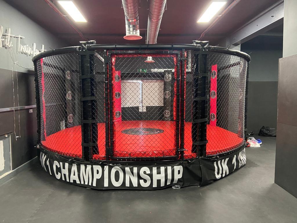 LOW PLATFORM MMA CAGE