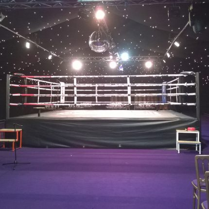 ex hire boxing ring