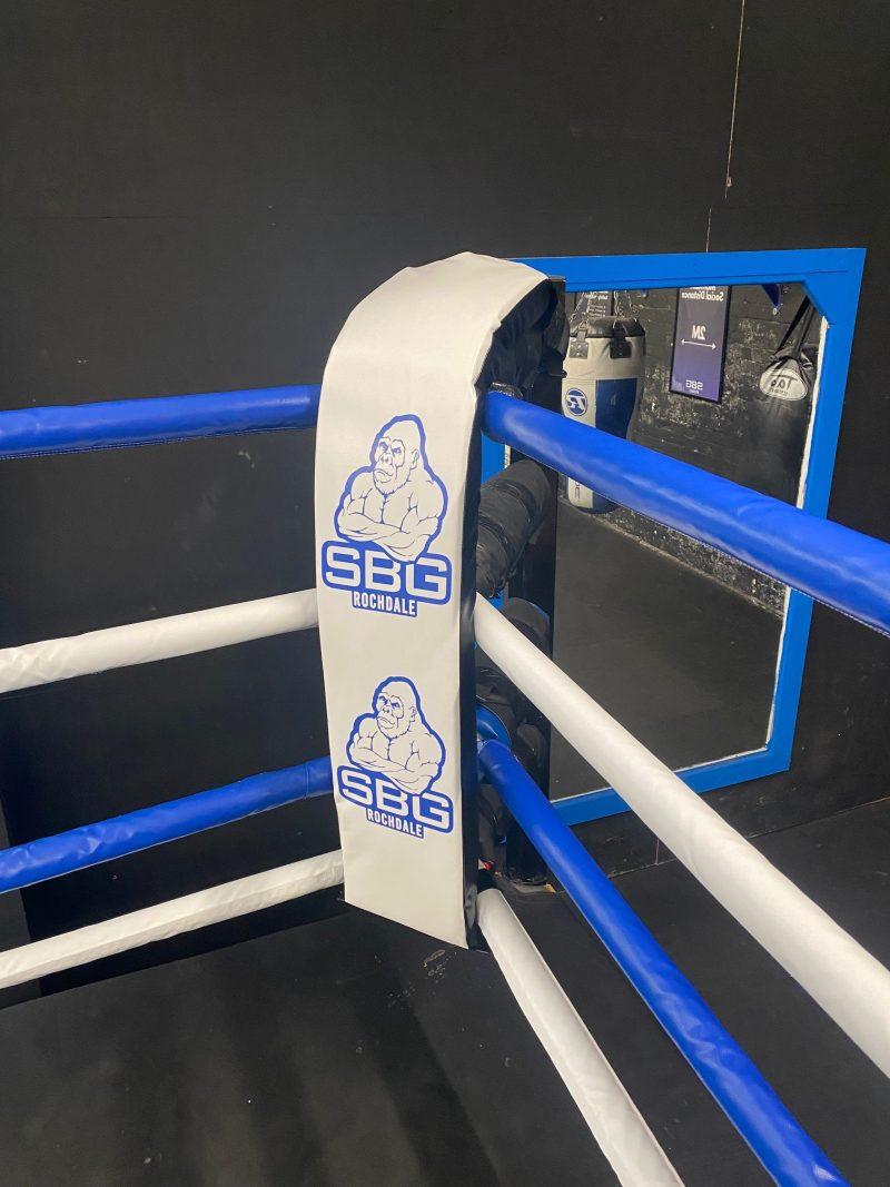 custom boxing ring corner pad